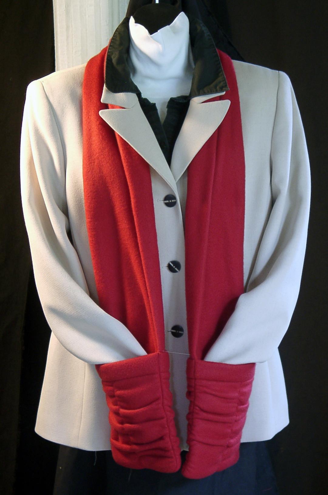 Red Sheered Pocket Fleece - Click for details